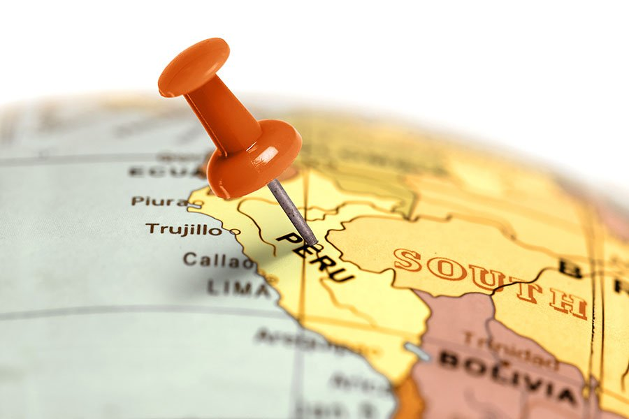 Découvrez ma carte d'Amérique du Sud